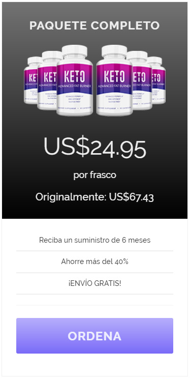 Paquete Completo - Ordena Keto Advanced - Oferta Exclusiva
